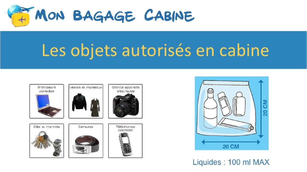 bagage autorisé avion