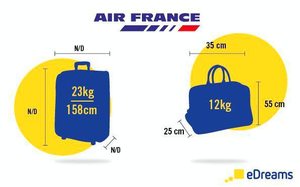 bagage main air france