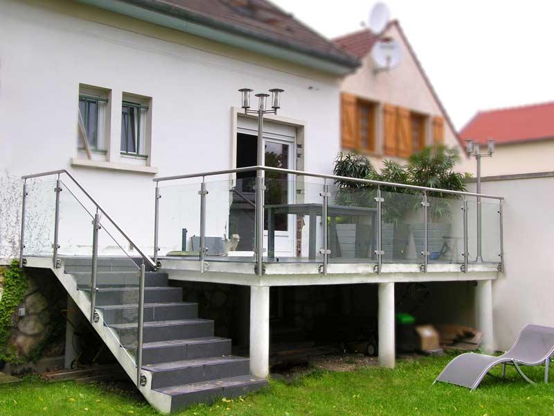 balustrade terrasse