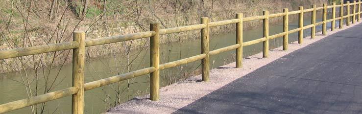 barrière en bois extérieur