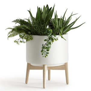 cache pot interieur