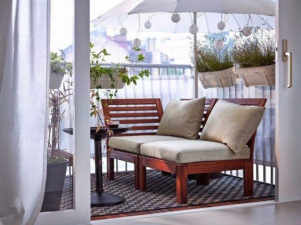 canapé balcon