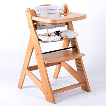 chaise bebe bois