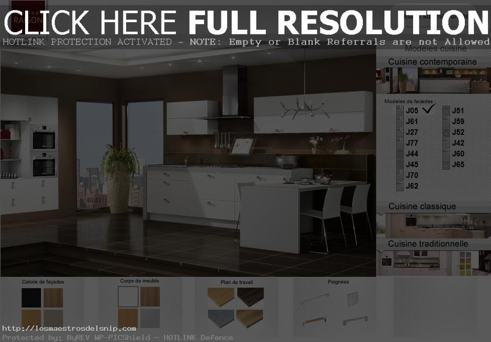 créer sa cuisine en 3d