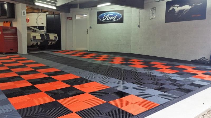 dalle de sol garage