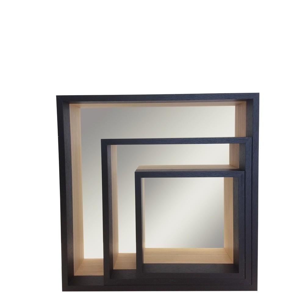 etagere miroir