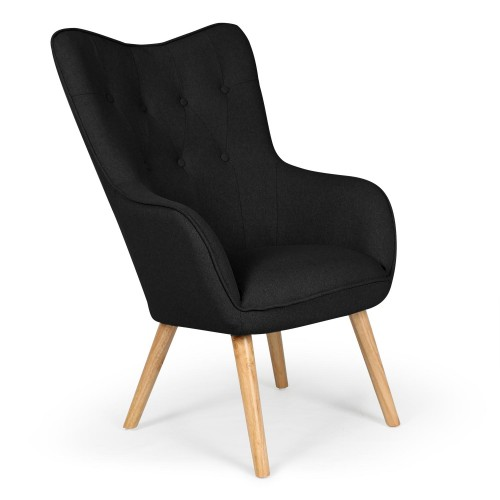 fauteuil noir