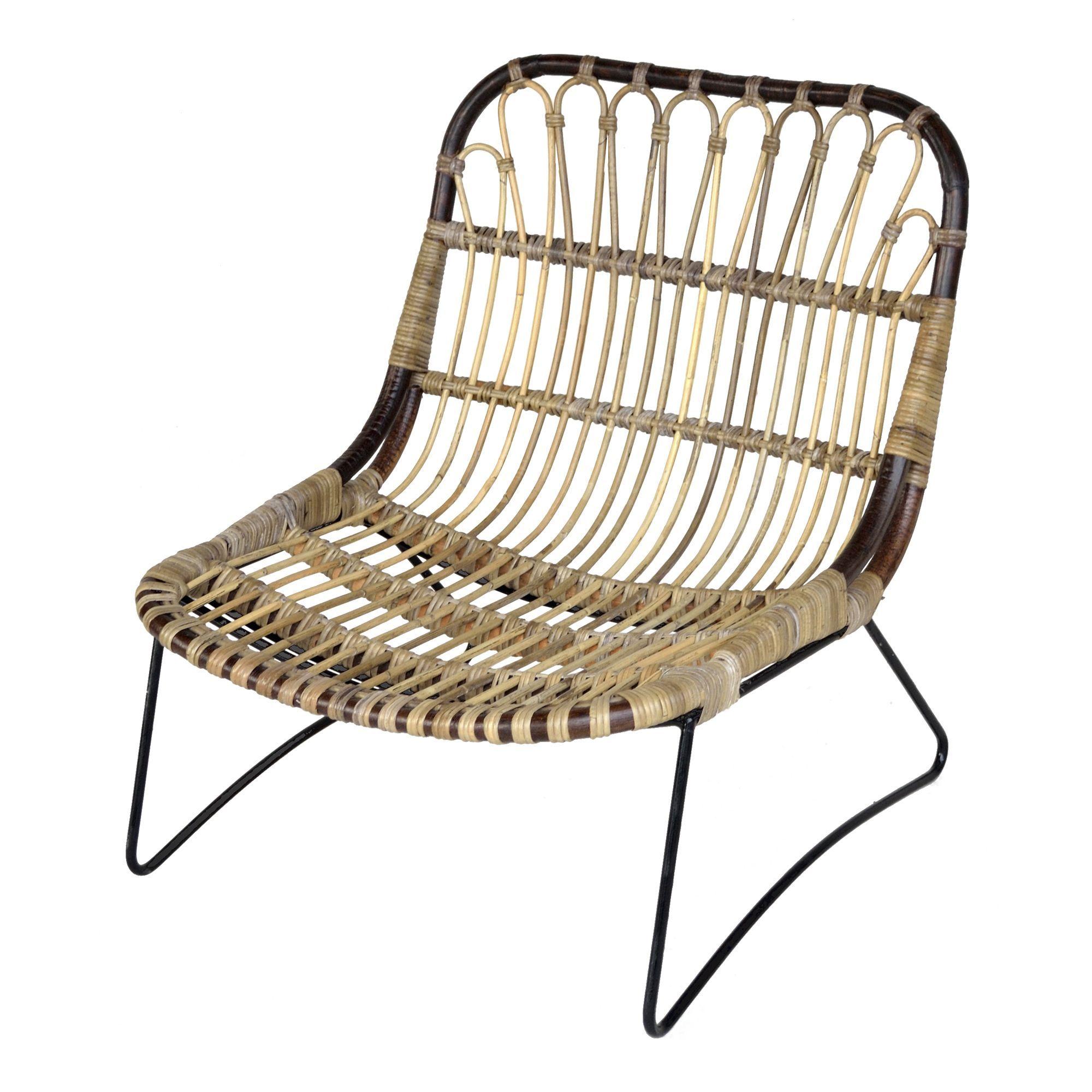 fauteuil rotin alinea