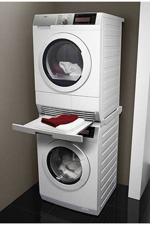 kit de superposition lave linge seche linge