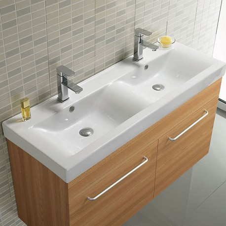 lavabo double vasque