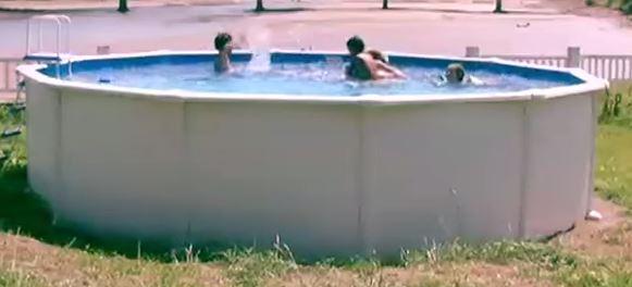 liner piscine hors sol
