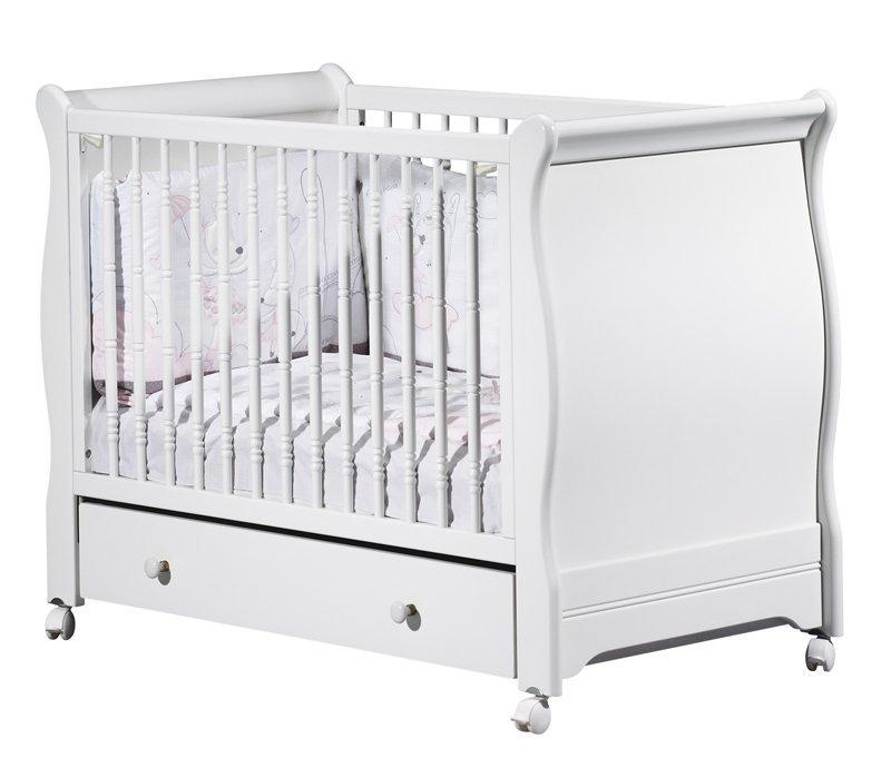 lit bebe blanc