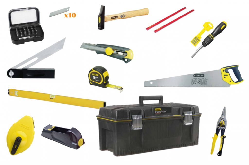 outils menuisier