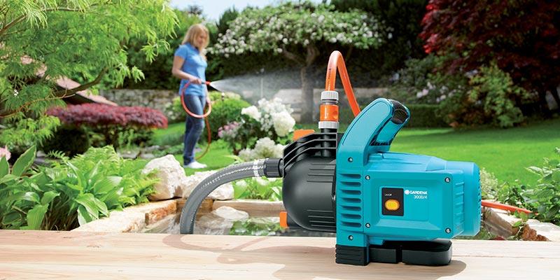 pompe de jardin