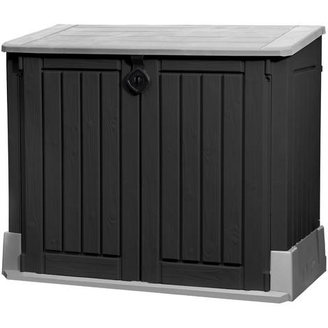 rangement poubelle