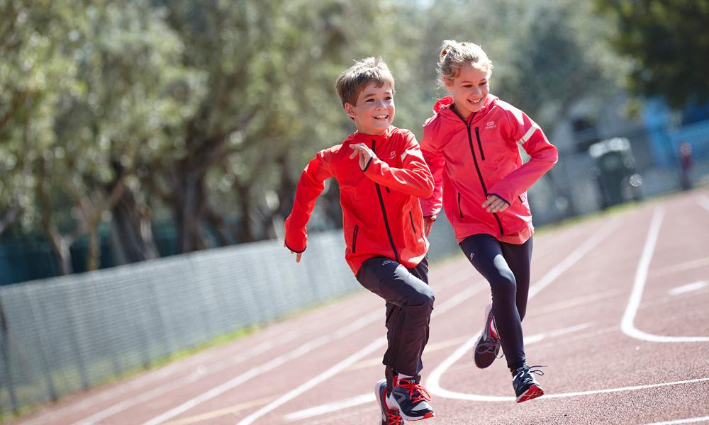 running enfant