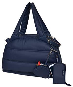 sac a langer bleu marine