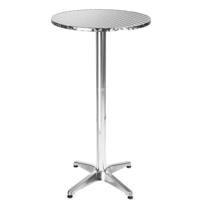 table de bar haute