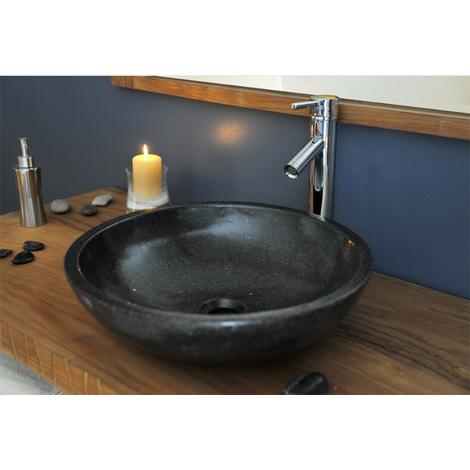 vasque noir