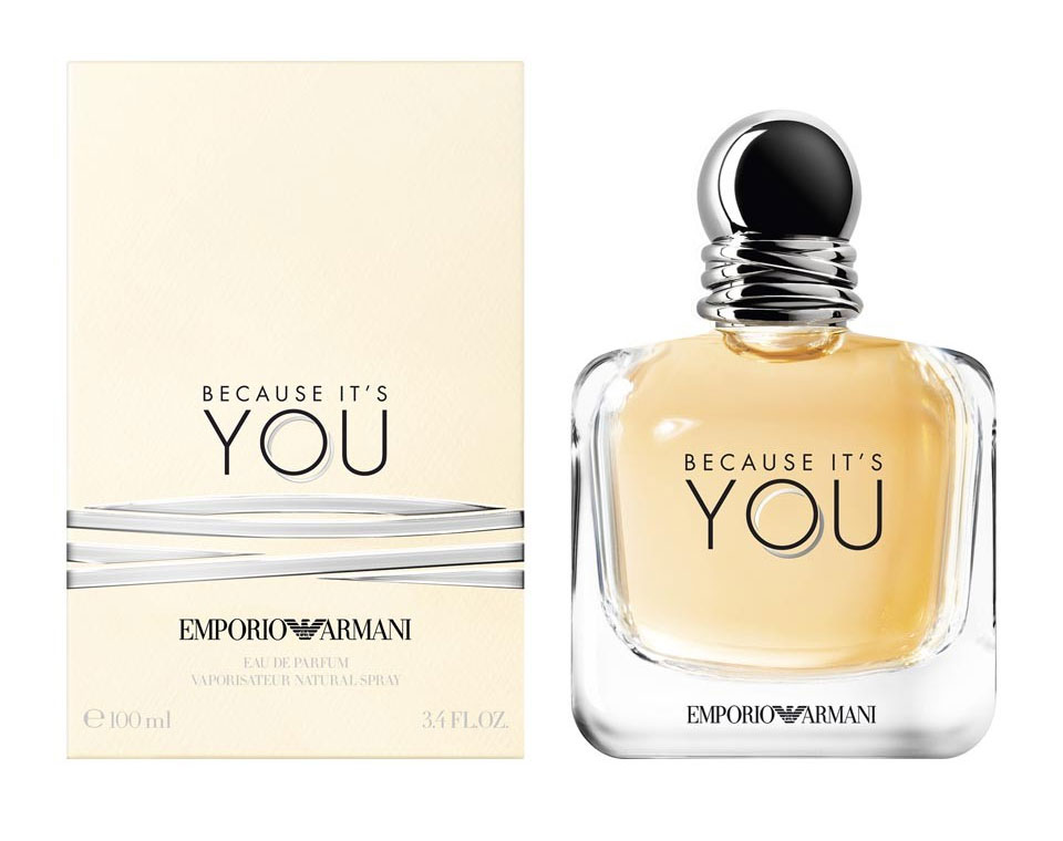 because it's you armani