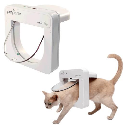chatière pour chat électronique