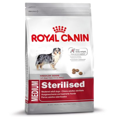 croquettes chien stérilisé royal canin