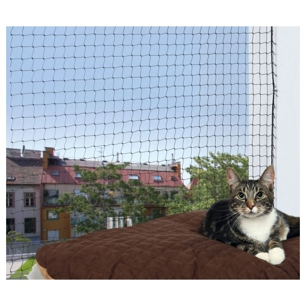 filet chat balcon