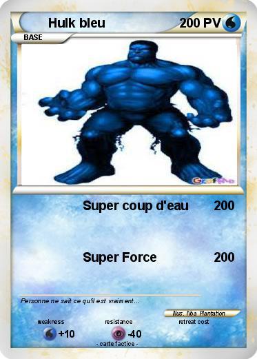 hulk bleu