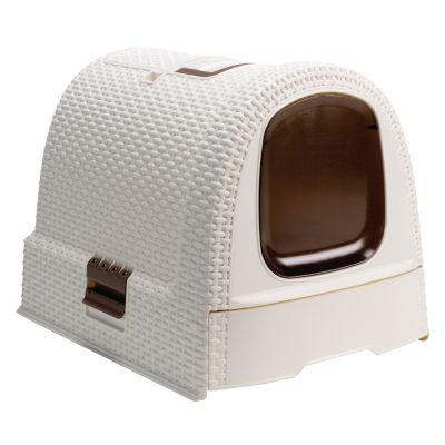 maison de toilette pour chat curver