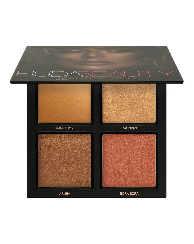 palette huda beauty highlighter