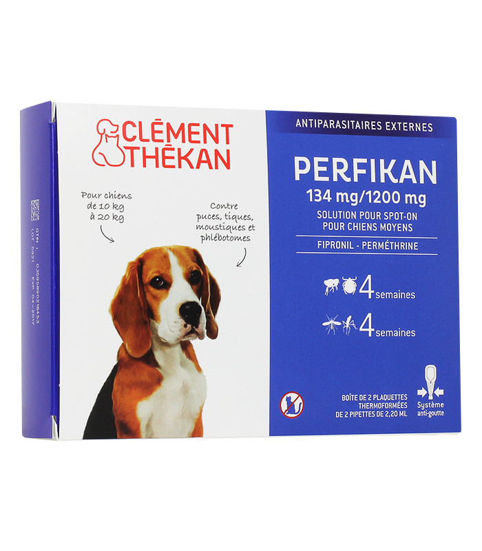 pipette anti puce chien