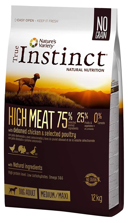 true instinct high meat