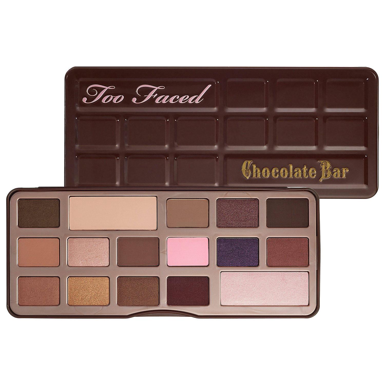 palette maquillage chocolat