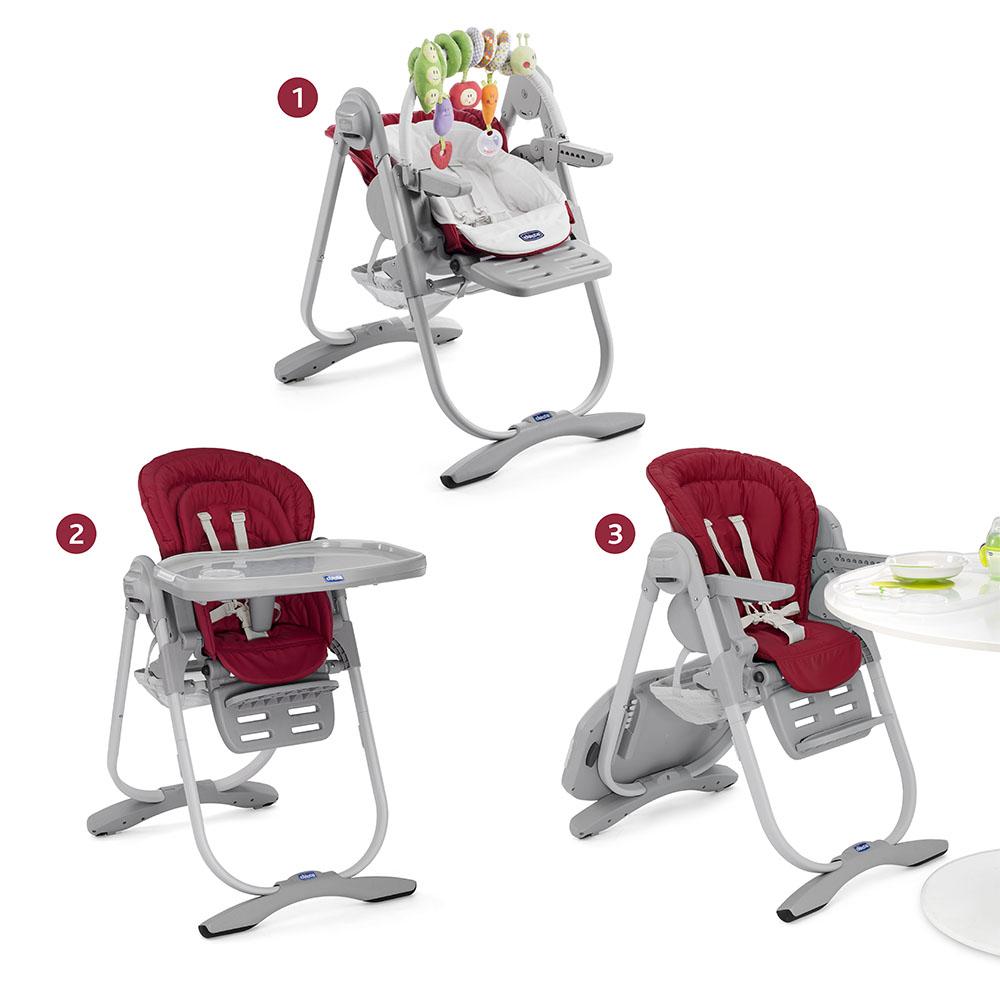chaise haute polly magic 3 en 1