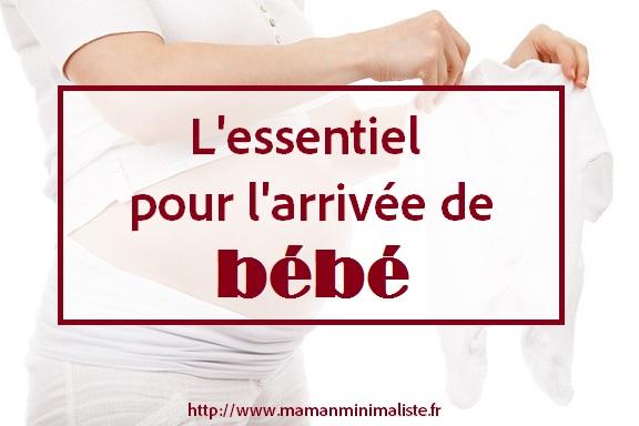 l essentiel pour bébé