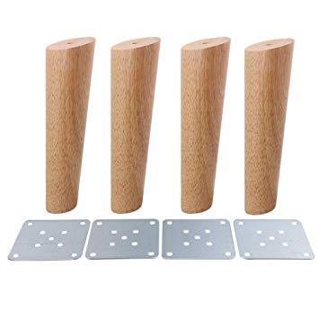 pied de meuble bois