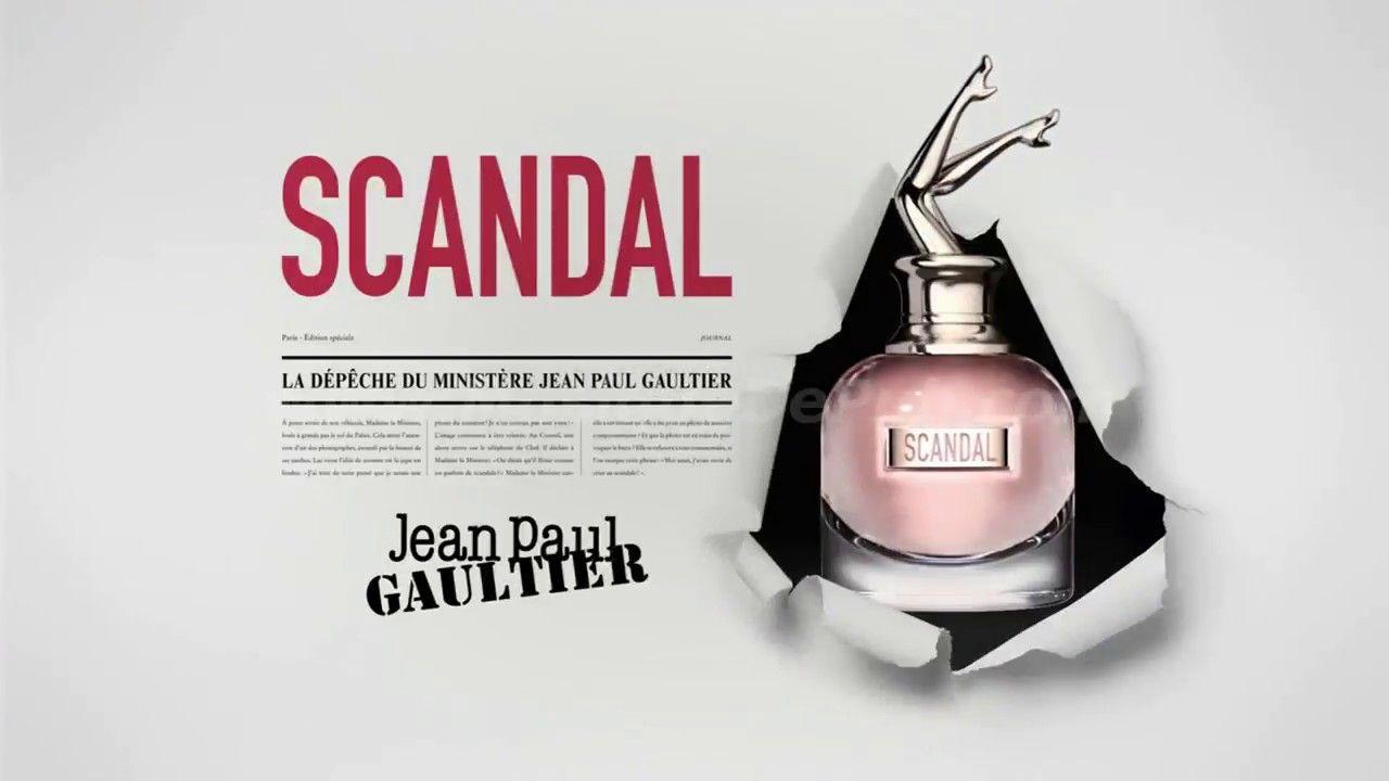 scandal jean paul gaultier pub