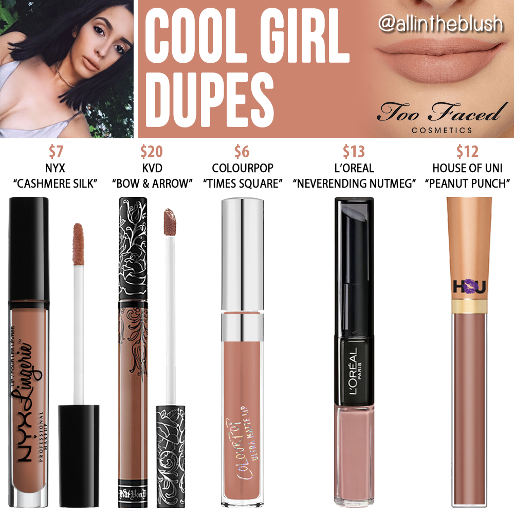 too faced cool girl